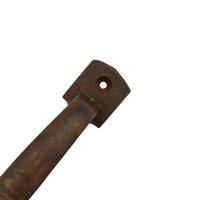 Meubelgreep 150 mm Industrial roest, gietijzer