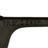 Plankdrager N°106-8  150 x 100 mm  - zwartgelakt