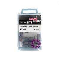 Dynaplus TX-40 25mm Bits - 10 stuks