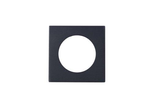 Serozzetta Serozzetta vierkante rozetten zwart