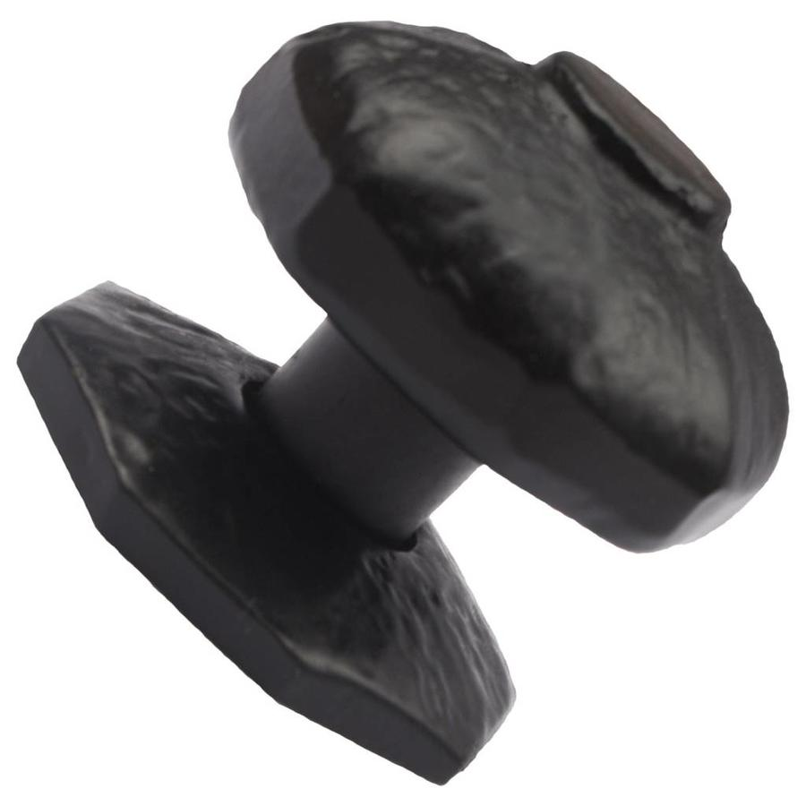 Gietijzeren deurknop achthoek - enkel