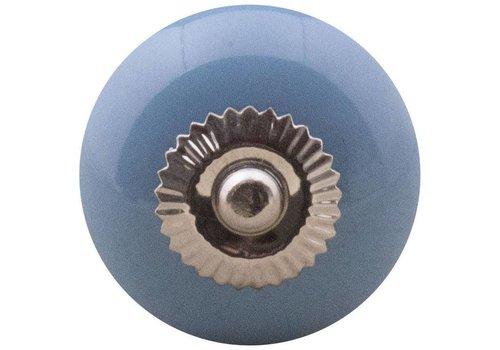Meubelknop 40mm blauw