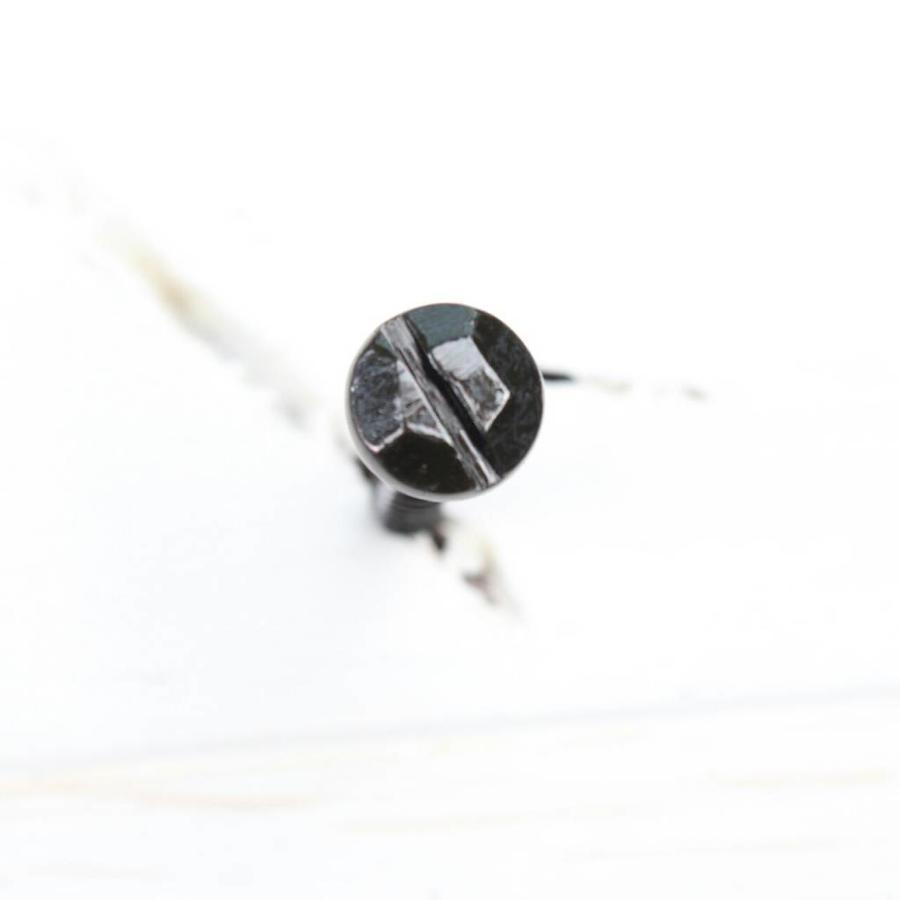 Zwarte sierschroef 3 x 16mm