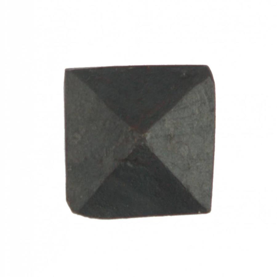 Hand gesmede nagel 155 mm - vierkante piramide kop