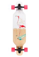 TIFFY - Kinderlongboard Flamingo komplett