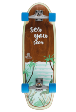 BTFL CODY - Surfskate Board komplett