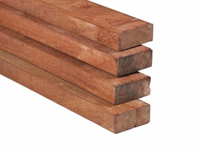 Tuindeco Hardhouten Regel Fijnbezaagd 40x90mm 3 Meter