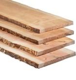 Tuindeco Douglas Schaaldeel Onbehandeld 1.8x±15-20x360cm (3,6 meter)