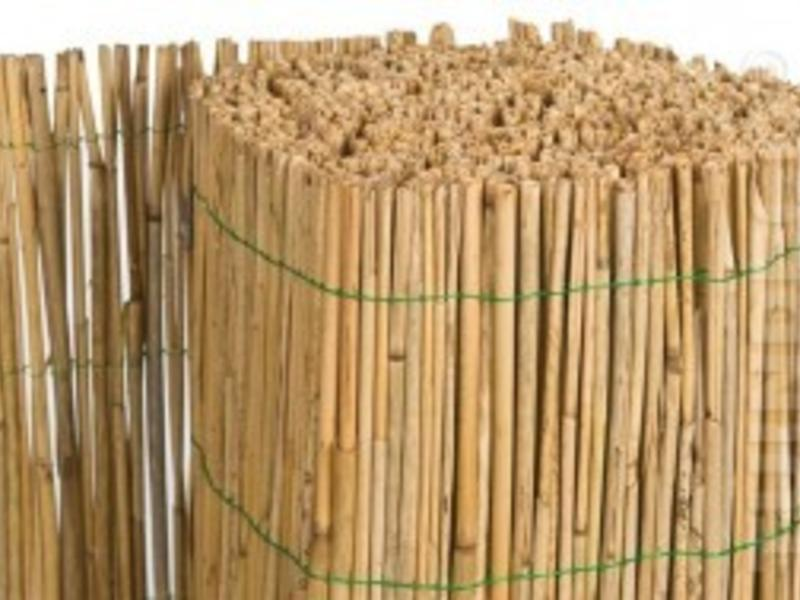 Tuindeco Rietmat op Rol Enkelvoudig Gebonden L600cm X H160cm