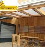 Van Gelder Hout Douglas Veranda 400x400cm (4x4m)