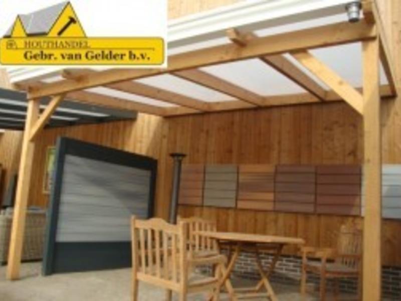 Van Gelder Hout Douglas Veranda 700x350cm (7x3.5m)