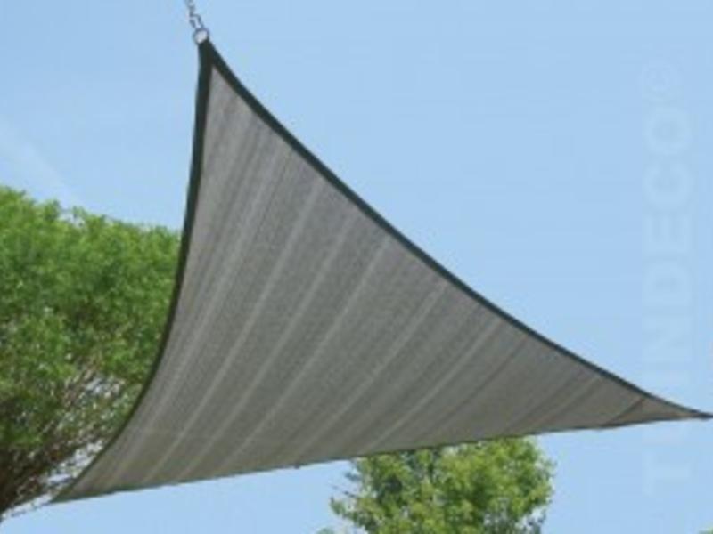 Tuindeco 3-hoek 5.50x5.50cm zandbeige
