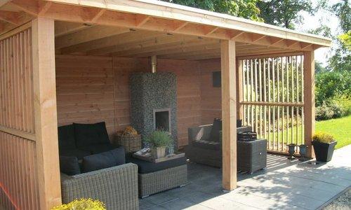 Garage Met Veranda : Uitbreiding woonhuis met garage en veranda te amersfoort van de