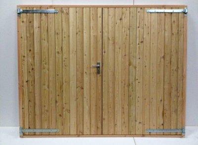 Douglas dubbele deur
