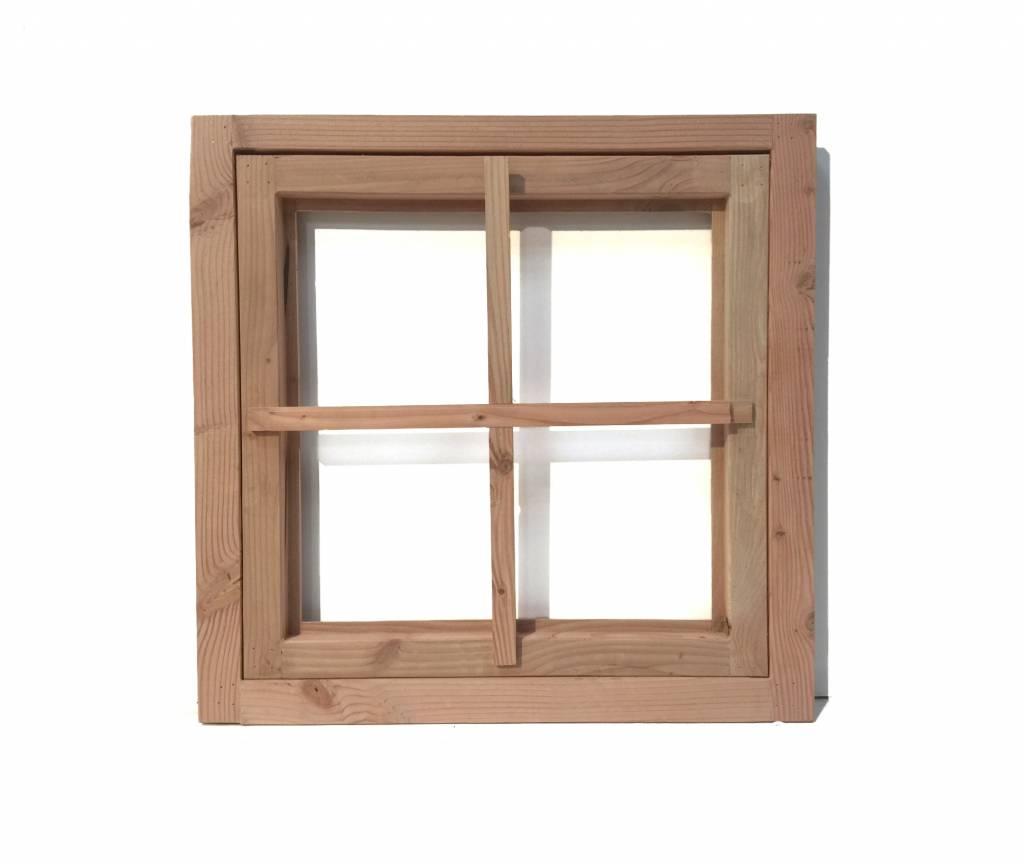 New Van Gelder Hout Douglas raamkozijn zonder raam - Houthandel van Gelder &UX43