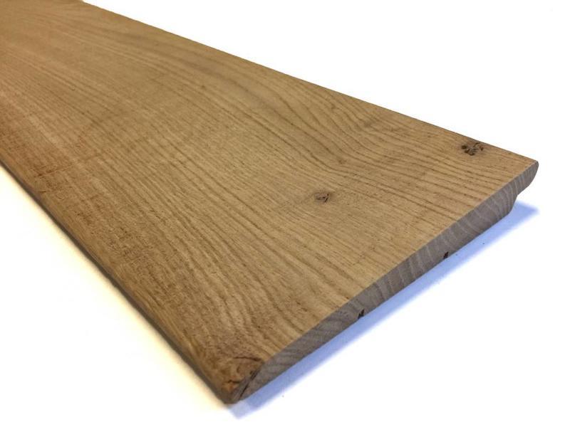 Eiken zweeds rabat 25u003e11x195mm eiken rabatdelen houthandel van