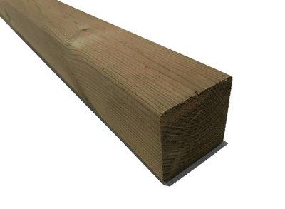 Geimpregneerde palen 6.8x6.8cm