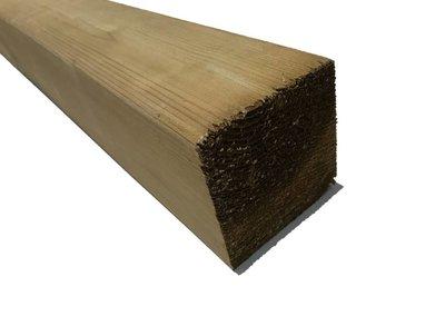 Geimpregneerde palen 8.8x8.8cm