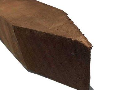 Hardhouten Paal Azobé 7x7cm
