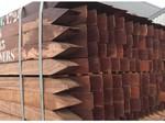 Van Gelder Hout Hardhouten schuttingpalen 6x6cm