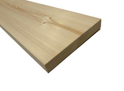 Vuren Plank 28x195mm Geschaafd