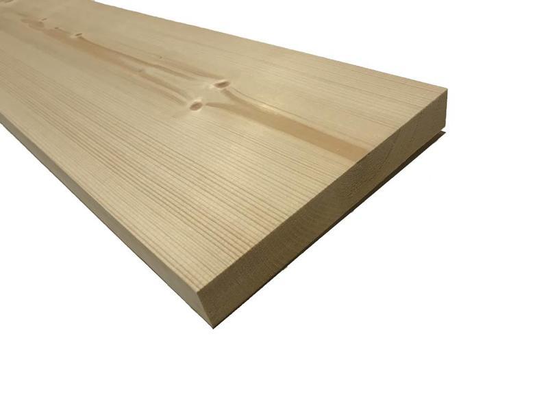 Van Gelder Hout Vuren Plank 28x195 mm (2.8 x 19.5 cm) Geschaafd