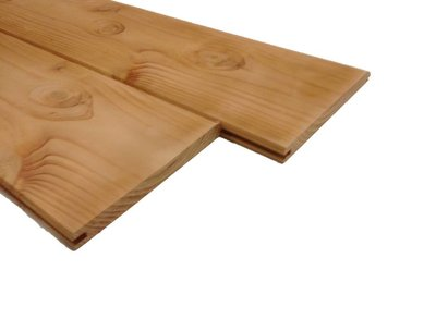 Extra brede vellingdelen | Douglas dakbeschot 175wb