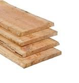 Tuindeco Douglas Schaaldeel / Boomstamplank 18 x 150/200 mm (1.8 x 15/20 cm) Onbehandeld