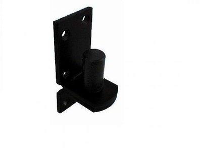 Plaatduim 16x45 zwart verzinkt (40/5)