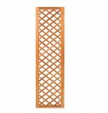 Tuindeco Trellis diagonaal met lijst hardhout