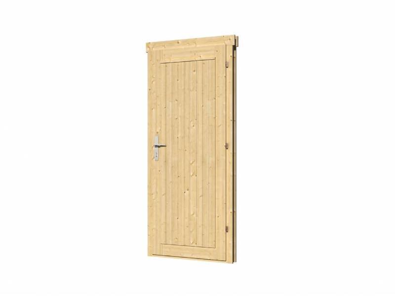 Tuindeco Vuren enkele deur DL10 rechtsdraaiend | B83xH188cm
