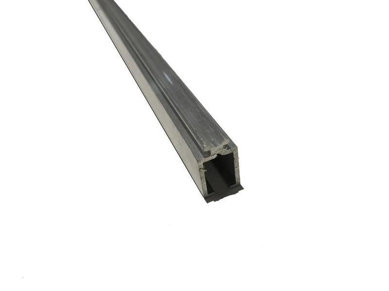 Van Gelder Hout Aluminium Zijprofiel voor Polycarbonaat Dakplaten
