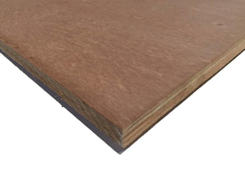 Van Gelder Hout Grote okoume platen van 153x310cm blank