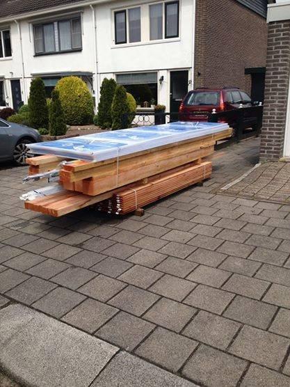 Douglas Veranda 400x350cm 4x3 5m Houthandel Van Gelder