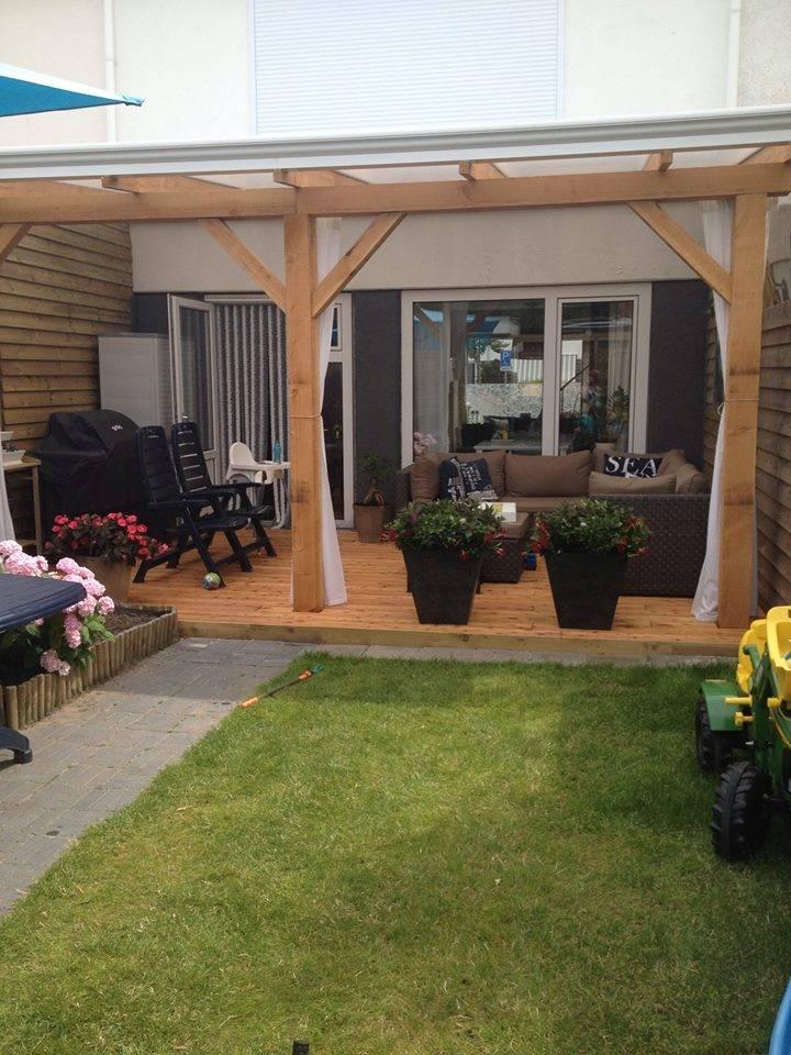 Beste Douglas veranda 500x400cm (5x4m) - Houthandel van Gelder QA-85