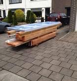 Van Gelder Hout Douglas Veranda 700x400cm (7x4m)