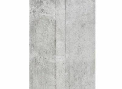 Betonpaal lichtgrijs met halfronde kop en vellingkant