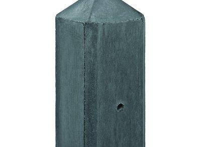 Betonpaal antraciet voor 2 gladde onderplaten of 2 rotsmotief platen