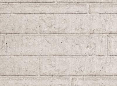 Beton Schutting onderplaat rotsmotief lichtgrijs
