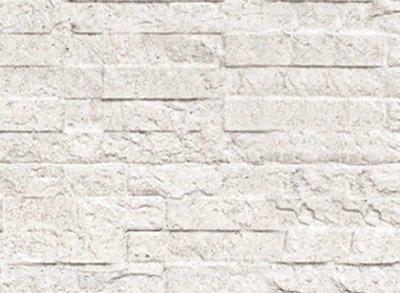 Beton Schutting onderplaat leisteen motief lichtgrijs
