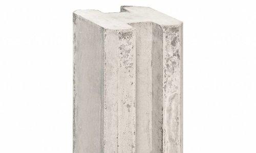 Sleufpaal systeem grijs