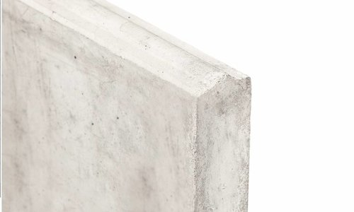 Onderplaat beton schutting
