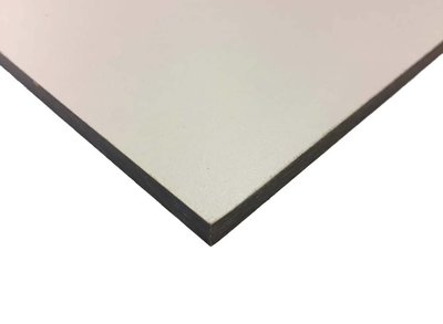Hpl plaat wit 1300x3050x6mm