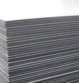 Van Gelder Hout Hpl plaat wit 1300x3050mm dubbelzijdig wit