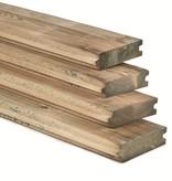 Tuindeco Damwand plank 40x170mm (4.0 x 17.0 cm) Geïmpregneerd