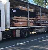 Niet bereikbaar met grote vrachtwagen met oplegger