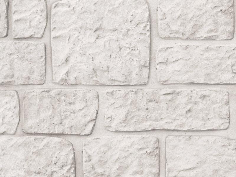 Tuindeco Beton Schutting onderplaat Romeins motief lichtgrijs