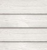 Tuindeco Beton Schutting onderplaat Rabat-hout motief lichtgrijs