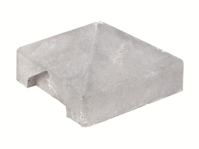 Tuindeco Afdekpet voor betonpaal lichtgrijs