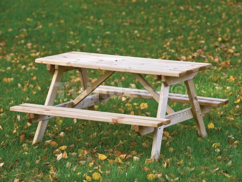 Tuindeco Kinderpicknicktafel